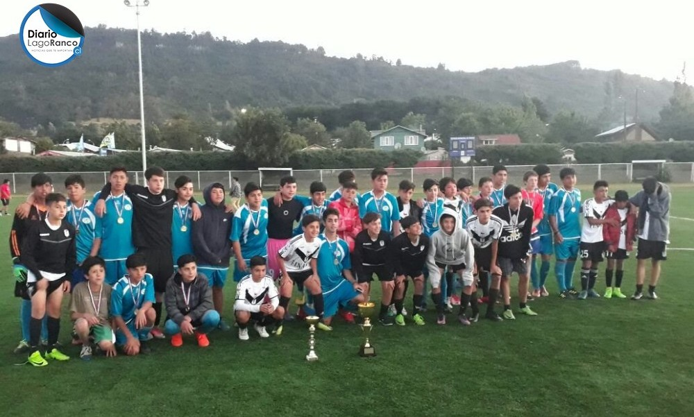 Lago Ranco campeón venció la final a Santiago Morning en la sub-14
